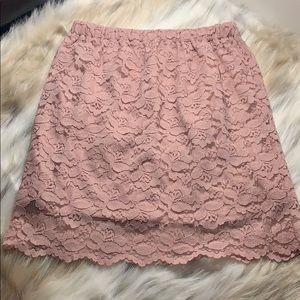 Xhilaration   Lace Mini   Blush   Small